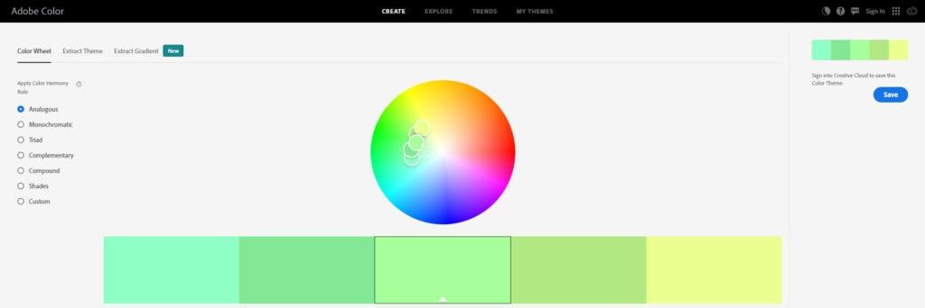 5 เว็บจับคู่สีสุดสวยสำหรับในการนำไปใช้ออกแบบให้ง่ายมากยิ่งขึ้น 3