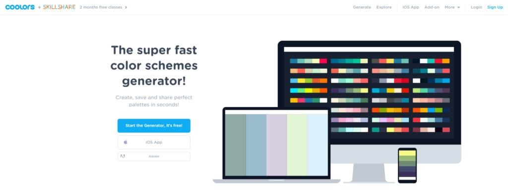 5 เว็บจับคู่สีสุดสวยสำหรับในการนำไปใช้ออกแบบให้ง่ายมากยิ่งขึ้น 4