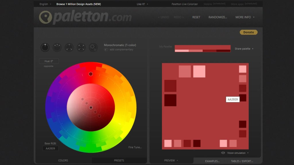 5 เว็บจับคู่สีสุดสวยสำหรับในการนำไปใช้ออกแบบให้ง่ายมากยิ่งขึ้น 5